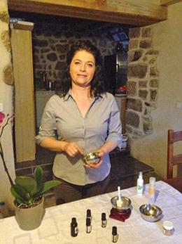 Magali, aromathérapeute diplomée
